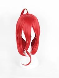 abordables -Perruques de lolita Lolita Rouge Classique & Intemporel Perruque Lolita  45 CM Perruques de Cosplay Perruque Pour