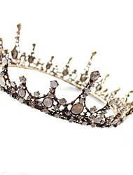 cheap -Metalic Alloy Rhinestone Crystal/ Rhinestone 1pc Wedding Special Occasion Headpiece