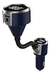Недорогие -bluetooth fm передатчик беспроводной автомобильный радиопередатчик адаптер адаптер автомобильное зарядное устройство tf карта u диск play