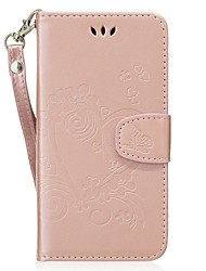 cheap -Case For Huawei Honor 8 Card Holder with Stand Flip Pattern Embossed Full Body Cases Heart Hard PU Leather for Honor 8 Huawei Honor 6
