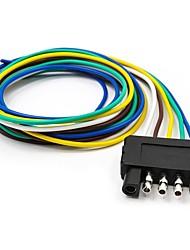 Недорогие -5-контактный разъем удлинителя жгута проводов плоского прицепа с 36-контактным концевым соединителем длины кабеля