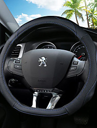 cheap -Automotive Steering Wheel Covers(Leather)For Peugeot 308 308S