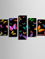 Недорогие -Холст для печати Modern, 5 панелей холст Вертикальная С картинкой Декор стены Украшение дома