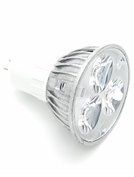 cheap -1pc 3W 300lm GU5.3 LED Spotlight 3 LED Beads High Power LED Decorative LED Light Cold White 220-240V