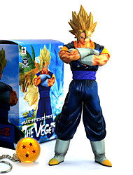 cheap -Anime Action Figures Inspired by Dragon Ball Goku PVC 28.5 CM Model Toys Doll Toy