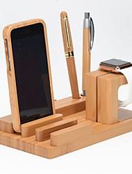 Недорогие -Apple Watch Стенд с адаптером Other Дерево Стол