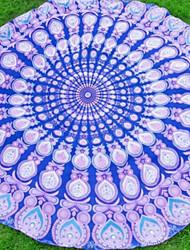 Недорогие -Свежий стиль Пляжное полотенце, Креатив Высшее качество Шифон Ручная работа Полотенце