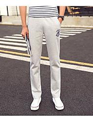 cheap -Men's Active Sweatpants Pants - Solid Colored