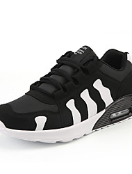 cheap -Men's Light Soles Tulle / PU(Polyurethane) Spring / Fall Comfort Athletic Shoes Basketball Shoes Color Block Black / White / Black / Red