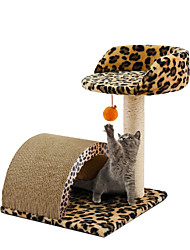 Недорогие -Кошка Кровати Выцарапывание Все для работы с бумагой Животные Подкладки Леопард Цвет-леопард Для домашних животных
