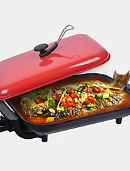 Недорогие -кухонный хром 220v электрический барбекю гриль термо плиты