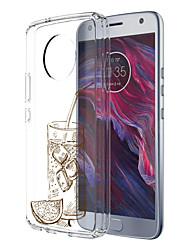 preiswerte -Hülle Für Motorola E4 Plus Muster Rückseitenabdeckung Lebensmittel Weich TPU für Moto X4 Moto E4 Plus Moto E4