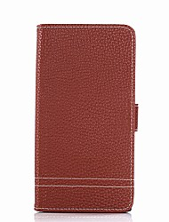 cheap -Case For Sony Xperia XA Ultra Sony Sony Xperia XA Xperia XA1 Ultra Xperia XA1 Card Holder Wallet with Stand Flip Full Body Cases Solid
