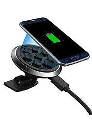 economico -Caricatore per auto Caricatore senza fili Caricatore del telefono del telefono USB Caricatore senza fili Qi 1 porta USB 1A iPhone X
