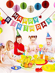 cheap -Birthday / Birthday Party Nonwoven Fabric Wedding Decorations Romance / Birthday / New Baby Spring, Fall, Winter, Summer