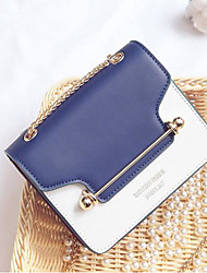 cheap -Women's Bags PU Shoulder Bag Pocket for Casual Summer Blue Blushing Pink