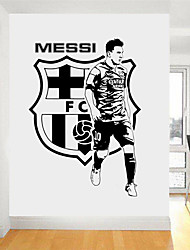 cheap -People Sports Wall Stickers Plane Wall Stickers 3D Wall Stickers Decorative Wall Stickers Wedding Stickers, Paper Vinyl Home Decoration