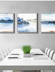 economico -Riproduzione Ad olio Decorazioni da parete,Legno Materiale con cornice For Decorazioni per la casa Cornice Sala da pranzo
