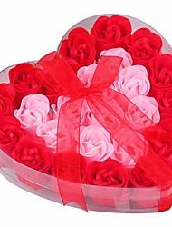 Недорогие -1шт День Святого Валентина Венки и гирлянды, Праздничные украшения 18*18*4.3