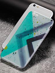 billiga -fodral Till Apple iPhone 7 Plus iPhone 7 Ultratunt Mönster Skal Geometriska mönster Mjukt TPU för iPhone 7 Plus iPhone 7 iPhone 6s Plus