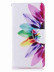 cheap -Case For Nokia Nokia 8 Nokia 6 Card Holder Wallet with Stand Flip Pattern Full Body Cases Flower Hard PU Leather for Nokia 8 Nokia 6
