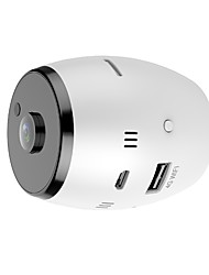 preiswerte -720p 180 Grad Panorama Weitwinkel Mini CCTV Kamera Smart IPC Wireless Fisheye IP Kamera P2P Sicherheit Wifi Kamera Barrel