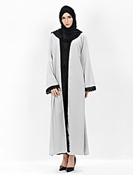 cheap -Egyptian Costume Arabian Dress Women's Festival / Holiday Halloween Costumes Gray Solid Colored