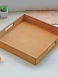 cheap -Wooden/Bamboo Envelope / Rectangular Multifunction Home Organization, 1pc Storage Cabinets