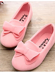 cheap -Girls' Shoes Nubuck leather Spring Fall Comfort Flower Girl Shoes Loafers & Slip-Ons for Casual Pink Green Fuchsia Yellow Purple