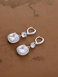 cheap -Women's Stud Earrings / Hoop Earrings - Silver For Wedding / Party