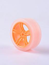 Недорогие -crab kingdom® diy учебные автомобильные запчасти колесо автомобиля tt моторная шина 1шт оранжевый и прозрачный # 4