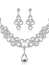 cheap -Women's Jewelry Set - Drop Sweet, Fashion Include Bridal Jewelry Sets Silver For Wedding / Party