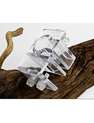 cheap -Aquarium Decoration Pipe Clamps Tubes & Tunnels Easy to Install Decoration Acrylic