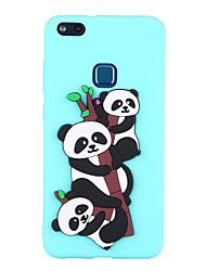 baratos -Capinha Para Huawei P8 Lite (2017) P10 Lite Estampada Capa traseira Panda Macia TPU para P10 Lite P8 Lite (2017) Huawei