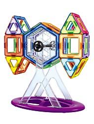 preiswerte -Magnetische Bauklötze Spielzeuge Transformierbar Neues Design Weicher Kunststoff 102 Stücke