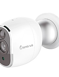 economico -K1 1.3 mp IP Camera Al Coperto Support256 GB / CMOS / 1 / 4 pollici / Filtro a infrarossi