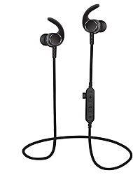 cheap -MS-T3 In Ear Neck Band Wireless Headphones Dynamic Plastic Sport & Fitness Earphone with Volume Control with Microphone Headset
