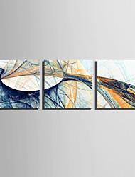Недорогие -Холст для печати Деревня Modern, 3 панели холст Квадратный С картинкой Декор стены Украшение дома