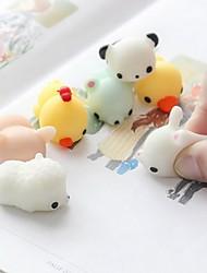 Недорогие -LT.Squishies Резиновые игрушки Кошка / Животный принт Животный принт Товары для офиса / Стресс и тревога помощи / Декомпрессионные игрушки