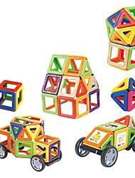economico -Mattoncini magnetici Giocattoli Tonda Quadrato Circolare Patinata 58 Pezzi