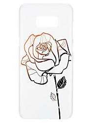 preiswerte -Hülle Für Samsung Galaxy S8 S7 Strass Muster Geprägt Rückseitenabdeckung Blume Hart PC für S8 Plus S8 S7 edge S7 S6 edge plus S6 edge S6