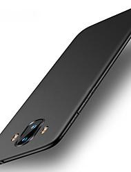 abordables -Coque Pour Huawei Mate 10 pro Mate 10 lite Ultrafine Coque Couleur unie Dur PC pour Mate 10 Mate 10 pro Mate 10 lite Mate 9 Mate 9 Pro