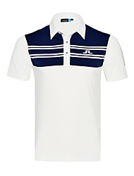 cheap -Men's Golf T-shirt Quick Dry Wearable Breathability Golf Outdoor Exercise
