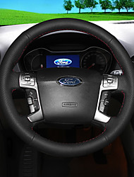 cheap -Automotive Steering Wheel Covers(Leather)For Ford All years Mondeo