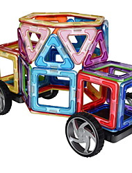 cheap -Magnetic Blocks Building Blocks 63pcs Car Magnetic Hand-made Chic & Modern Traditional Classic Theme Girls' Boys' Toy Gift