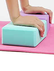 cheap -Yoga Block 1 pcs High Density, Moisture-Proof, Lightweight EVA Support and Deepen Poses, Aid Balance And Flexibility For Pilates / Fitness / Gym Purple, Blue, Pink