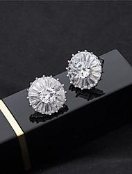 cheap -Women's Stud Earrings Rhinestone Crystal Rhinestone Jewelry Silver Wedding Party Costume Jewelry