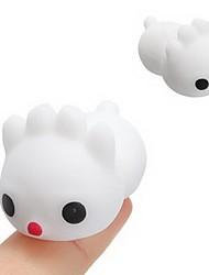 Недорогие -LT.Squishies / Squishy Резиновые игрушки Rabbit Товары для офиса Стресс и тревога помощи Декомпрессионные игрушки Оригинальные Животные