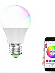 preiswerte -1pc 4.5W 450-480lm E27 E26 Smart LED Glühlampen 4 LEDs SMD 5050 Abblendbar WiFi Smart Funktioniert mit Amazon Alexa RGB + Weiß 2700-6500K