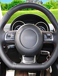 Недорогие -крышки автомобильных рулевых колес (кожа) для audi tt